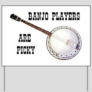 BANJO Yard Sign