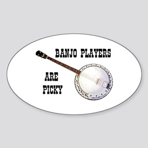 BANJO Oval Sticker