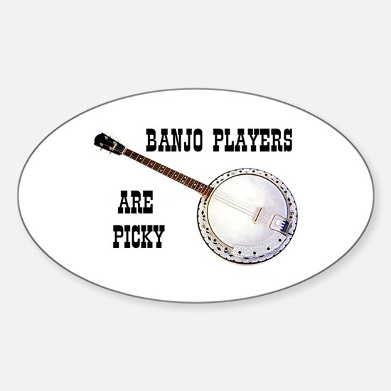 BANJO Oval Decal