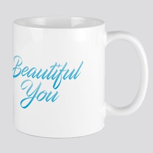 Beautiful You - Blue Mugs