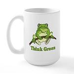 Think Green Large Mug