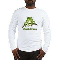 Think Green Long Sleeve T-Shirt
