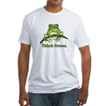 Think Green Fitted T-Shirt
