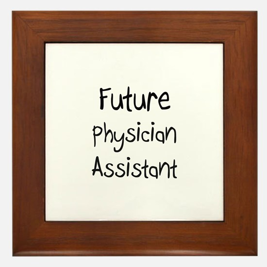 Future Physician Assistant Framed Tile