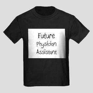 Future Physician Assistant Kids Dark T-Shirt