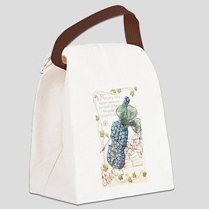 Erin go Bragh Flower Fiddle Canvas Lunch Bag