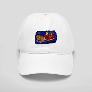 Rabbit Christmas Sleigh Cap