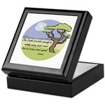 Ghandi Earth quote Keepsake Box
