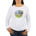 Ghandi Earth quote Women's Long Sleeve T-Shirt