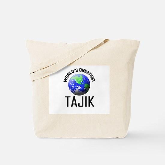 World's Greatest TAJIK Tote Bag