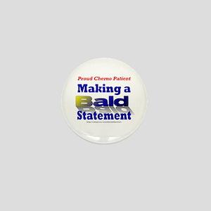 Bald Statement Mini Button