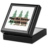 May the Forest be with you Keepsake Box