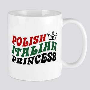 Polish Italian Princess Mug