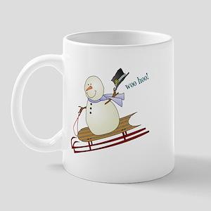 Woo Hoo Winter Fun Mug