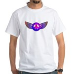Peace Wing Groovy White T-Shirt