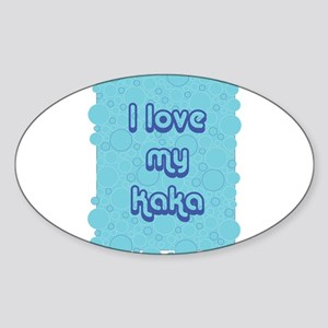 Bubbles- Kaka Oval Sticker