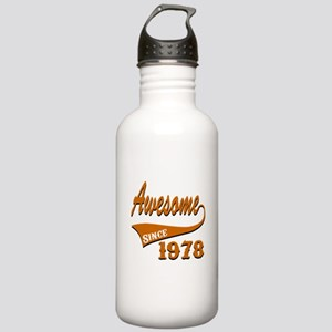Awesome Since 1978 Bir Stainless Water Bottle 1.0L