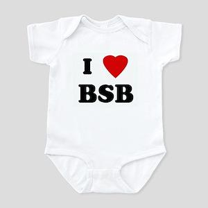 I Love BSB Infant Bodysuit