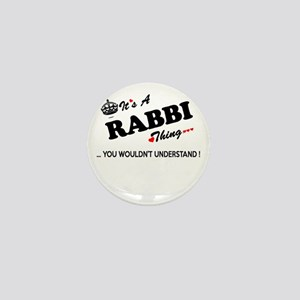 RABBI thing, you wouldn't understand Mini Button