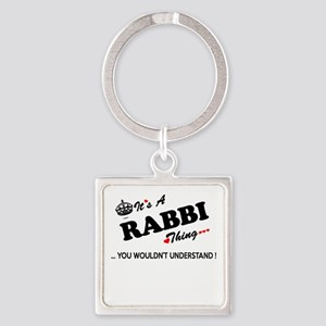 RABBI thing, you wouldn't understand Keychains
