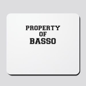 Property of BASSO Mousepad