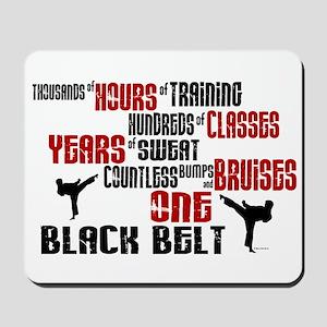 ONE Black Belt 2 Mousepad