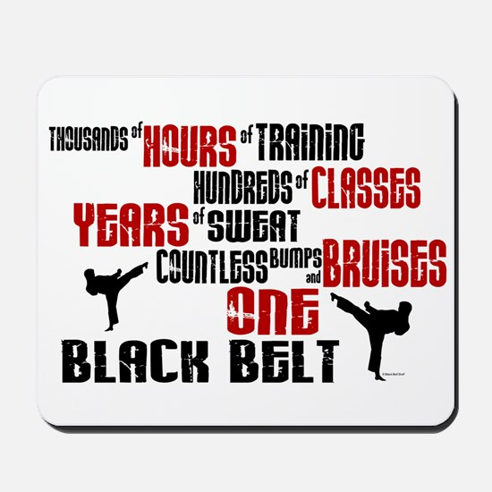ONE Black Belt 2 Mousepad