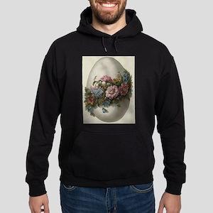 Vintage Victoria Retro Art Floral Easte Sweatshirt