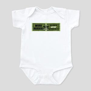 Work Harder... Millions On We Infant Bodysuit