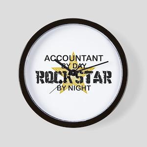 Accountant RockStar Wall Clock