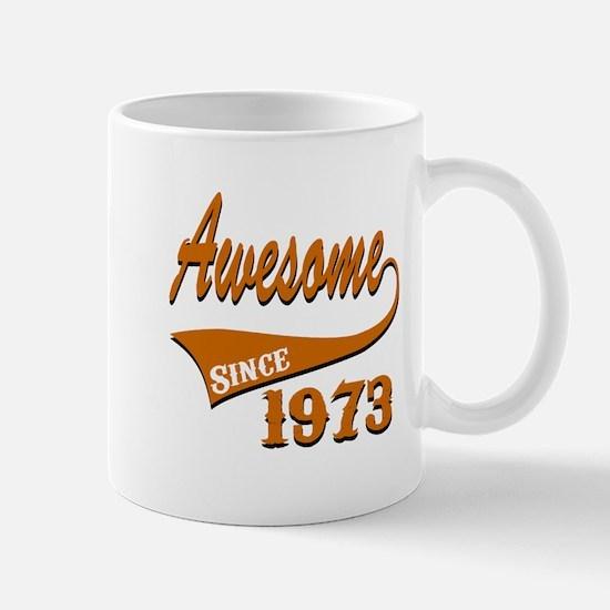 Awesome Since 1973 Birthday Designs Mug