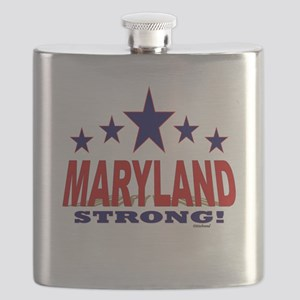 Maryland Strong! Flask
