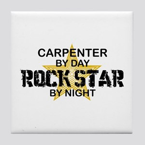 Carpenter RockStar by Night Tile Coaster
