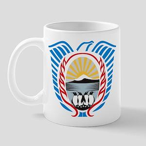 Tierra Del Fuego Coat of Arms Mug