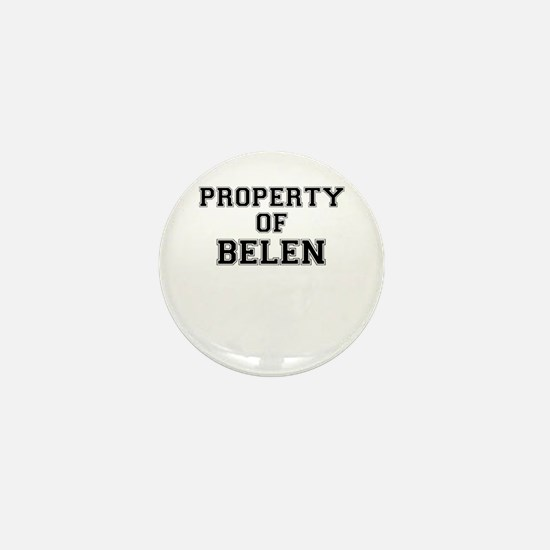 Property of BELEN Mini Button