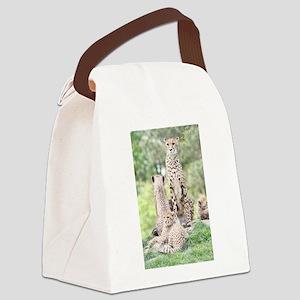 Cheetah 003 Canvas Lunch Bag