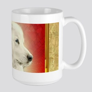 2018 Chinese New Year of the Dog White Dog Mugs