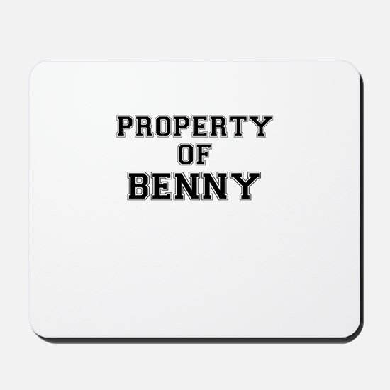 Property of BENNY Mousepad