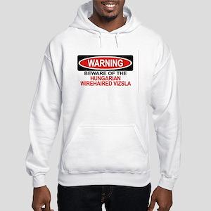 HUNGARIAN WIREHAIRED VIZSLA Hooded Sweatshirt