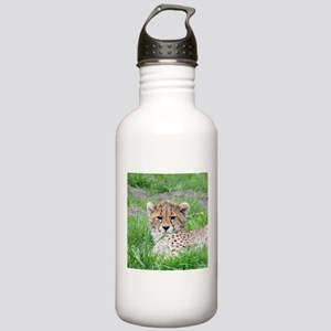 Cheetah_20180101_by_JA Stainless Water Bottle 1.0L