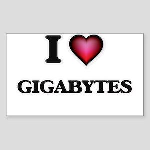 I love Gigabytes Sticker
