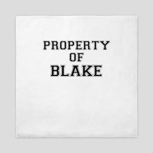Property of BLAKE Queen Duvet