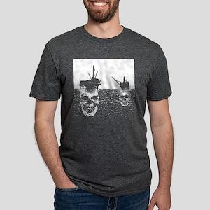 OFFSHORE OIL RIGS Women's Dark T-Shirt