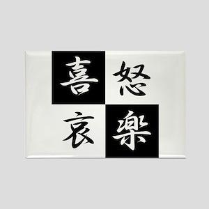 kidoairaku(4Emotion) Rectangle Magnet