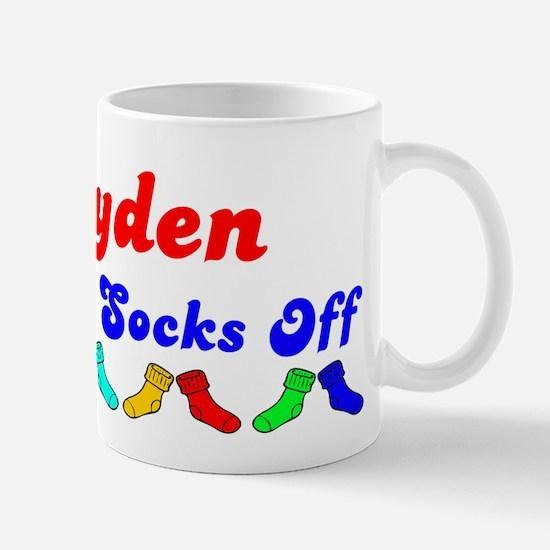 Brayden Rocks Socks (B) Mug