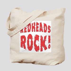 Redheads Rock Tote Bag