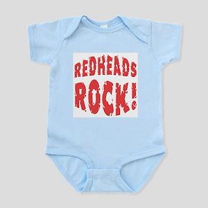 Redheads Rock Infant Creeper