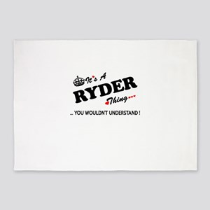 RYDER thing, you wouldn't understan 5'x7'Area Rug