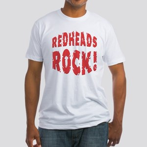 Redheads Rock Fitted T-Shirt