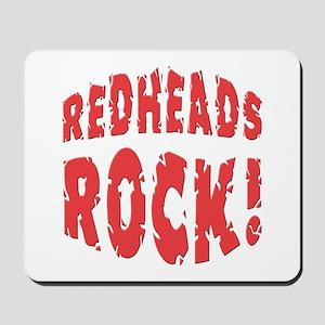 Redheads Rock Mousepad